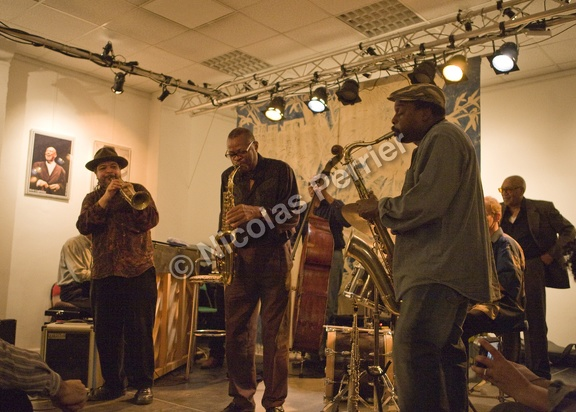 Rasul Siddik, Steve Potts, Darry Hall, David Murray, Hal Singer - Paris, 25 octobre 2009