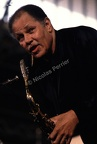 Dexter Gordon, juillet 1987, Paris. Festival 'Halle That Jazz'