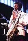 Joe Henderson, 4 juillet 1986, Paris. Festival 'Halle That Jazz'